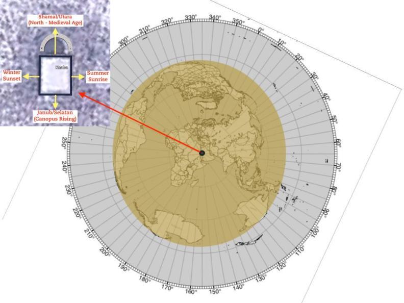 "Flat Map like ""Ostrich Egg"""