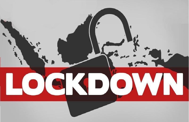 Ilustrasi Lock Down